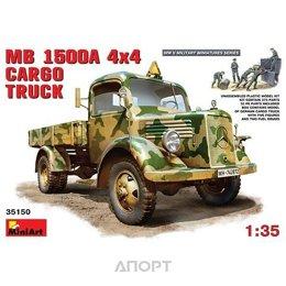 MiniArt Немецкий полноприводный грузовой автомобиль MB L1500A (MA35150)