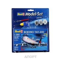 Revell Пассажирский самолет Boeing 747-200, (RV64210)