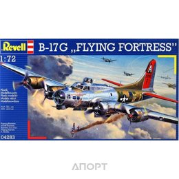 Revell Тяжелый бомбардировщик Боинг B-17 «Летающая крепость» (Flying Fortress). (RV04283)