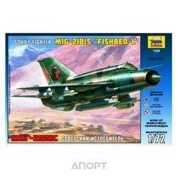 ZVEZDA MiG-21bis Soviet fighter (ZVE7259)