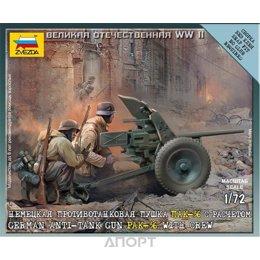 ZVEZDA Немецкая пушка ПАК-36 с расчетом (ZVE6114)