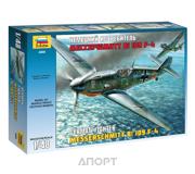Фото ZVEZDA Немецкий истребитель Мессершмитт Bf-109F4 1:48 (ZVE4806)
