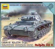 Фото ZVEZDA Немецкий танк Panzer III (ZVE6119)