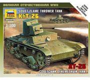 Фото ZVEZDA Советский огнеметный танк ХТ-26 (ZVE6165)