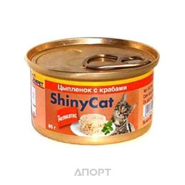 Gimpet ShinyCat курица с крабом 70 г