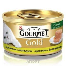 Gourmet Gold паштет с кроликом 0,085 кг