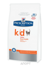 Фото Hill's Prescription Diet Feline k/d 5 кг