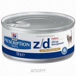Hill's Prescription Diet Feline z/d 0,156 кг