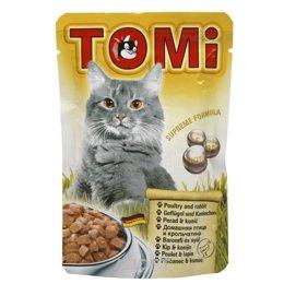 TOMi Консервы с птицей и кроликом 0,1 кг