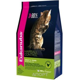 Eukanuba Cat Adult Hairball Control 0,4 кг
