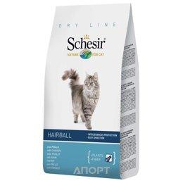 Schesir Hairball сухой корм для длиннешерстных кошек (с курицей) 400 г