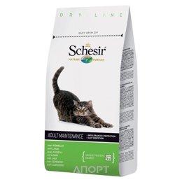 Schesir Maintenance сухой корм для кошек (с ягненком) 1,5 кг