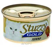 Фото Stuzzy Gold консервы для кошек кусочки тунца в собственном соку 85 гр