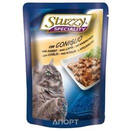 Stuzzy Speciality консервы для кошек с кроликом 100 гр