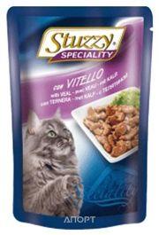 Фото Stuzzy Speciality консервы для кошек с телятиной 100 гр