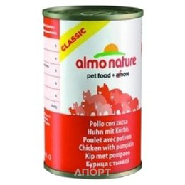 Almo Nature Classic Adult Cat Chicken and Pumpkin 0,14 кг