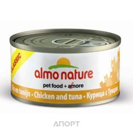 Almo Nature Classic Adult Cat Tuna and Chicken 0,28 кг