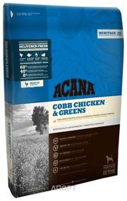 Фото ACANA Heritage Cobb Chicken & Greens 11,4 кг