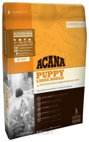 Фото ACANA Heritage Puppy Large Breed 17 кг