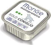 Фото Monge Monoproteico Solo Паштет из кролика 150 г