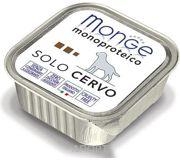 Фото Monge Monoproteico Solo Паштет из оленины 150 г