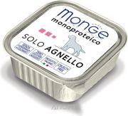 Фото Monge Monoproteico Solo Паштет из ягненка150 г