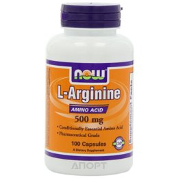 Now L-Arginine 500mg 100 caps
