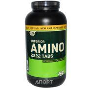 Фото Optimum Nutrition Superior Amino 2222 Tabs 320 tabs