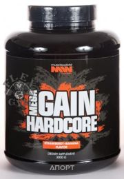 Фото Muscle World Nutrition Mega Gain Hardcore 3000g