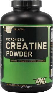 Фото Optimum Nutrition Micronized Creatine Powder 600 g