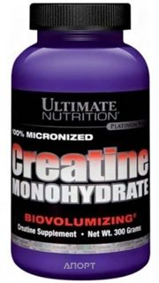 Фото Ultimate Nutrition Creatine Monohydrate 300 g