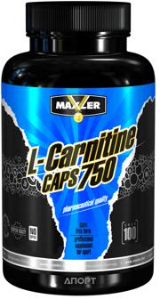 Фото Maxler L-Carnitine 750 100 caps