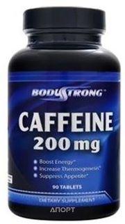 Фото BodyStrong Caffeine 90 tabs