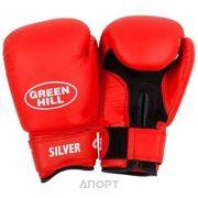 Фото Green Hill Перчатки боксерские Silver BGS-2039 (12 oz)