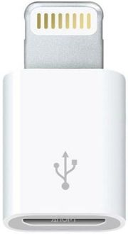 Фото Apple Адаптер Lightning to Micro USB (MD820)