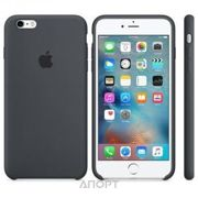 Фото Apple iPhone 6s Plus Silicone Case - Charcoal Gray (MKXJ2)
