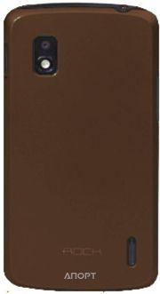 Фото Rock Naked shell LG Nexus 4 coffee (LG E960-45242)