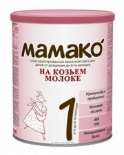 Фото МАМАКО Молочная смесь на основе козьего молока 1, 0-6 мес. 400 г