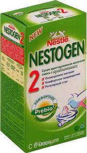 Фото Nestle Nestogen 2 с прибиотиками 350 г
