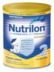 Фото Nutricia Nutrilon 2 Комфорт 400 г