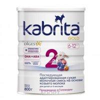 Фото Kabrita Молочная смесь 2 Gold с 6 месяцев, 800 г