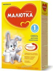 Фото Nutricia Молочная смесь Малютка 1, с рождения, 350 г