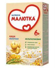 Фото Nutricia Каша Малютка молочная Мультизлаковая, с 6 мес, 220 г
