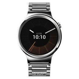 Huawei Watch (Stainless Steel with Stainless Steel Link Band)
