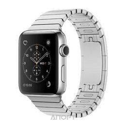 Apple Watch Series 2 38mm Stainless Steel Case with Stainless Steel Link Bracelet Band (MNP52)
