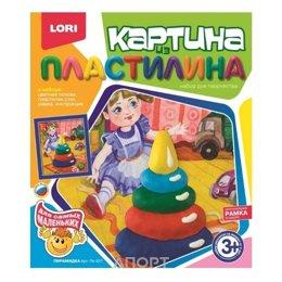 "Lori Картина из пластилина ""Пирамидка"" (Пк-001)"
