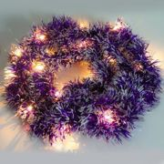 Фото Feron CL800 2700K фиолетовая мишура (26885)