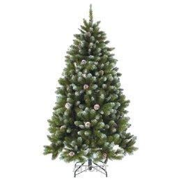 Triumph Tree Ель Императрица с шишками заснеженная 1,55 м